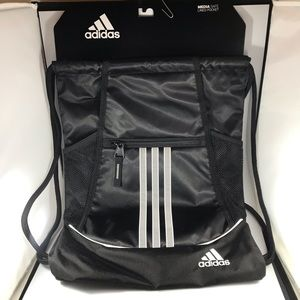 Adidas Alliance II Sackpack black gym bag